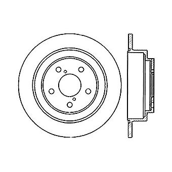 StopTech 127.47011R Sport Drilled/Slotted Brake Rotor (Rear Right), 1 Pack