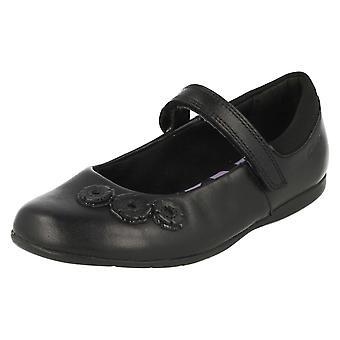 Стиль школы девочек Clarks Мэри Джейн Обувь DanceCrush