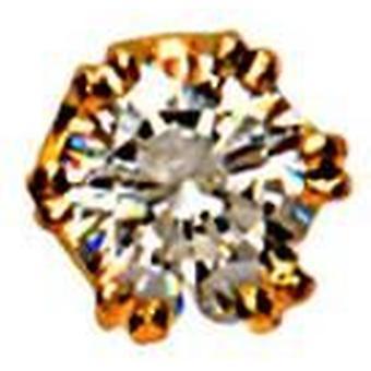 David van Hagen cubic cirkónium 9ct tie TacS-arany