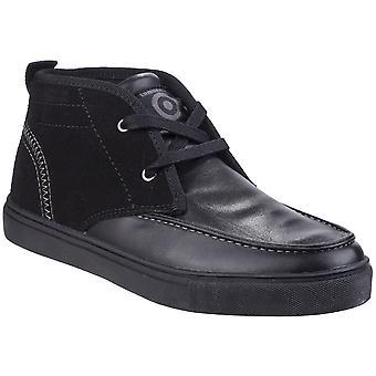 Lambretta Womens Chukka Lace Up Casual Chukka Ankle Boots