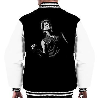 Bono de U2 guerra Tour Reino Unido 1983 Varsity chaqueta de