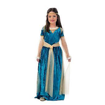 Mittelalter Prinzessin Kinderkostüm Prinzessinkleid Kostüm Kinder Mädchen Mittelalterkleid Königin