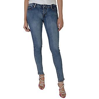 Lovemystyle syre vask Skinny ben blå lav stigning Jeans