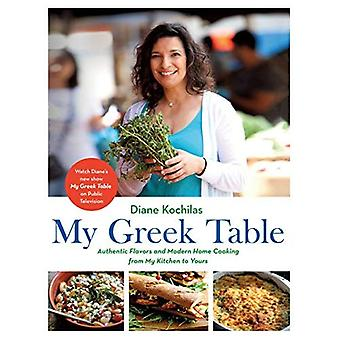 Min græske tabel: Autentiske smag og moderne husmandskost fra mit køkken til jeres