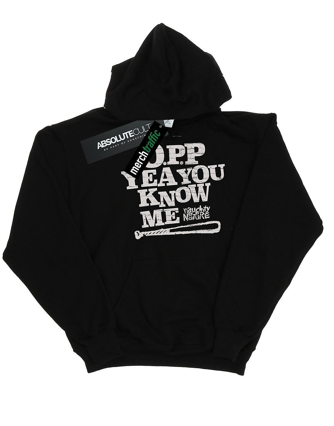 Naughty By Nature Men's Yeah You Know Me Hoodie