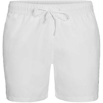 Bjorn Borg Logo Tape Swim Shorts, Brilliant White