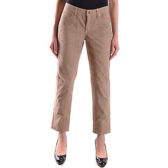 Jeckerson Ezbc069013 Women's Beige Cotton Jeans