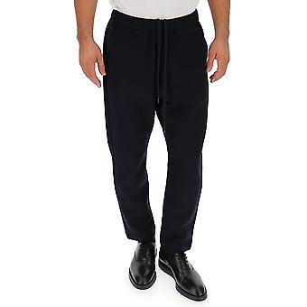 Barena Venezia Pau20160317170 Men's Blue Cotton Pants