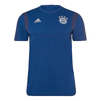 2019-2020 Bayern München Adidas uddannelse tee (Night marine)