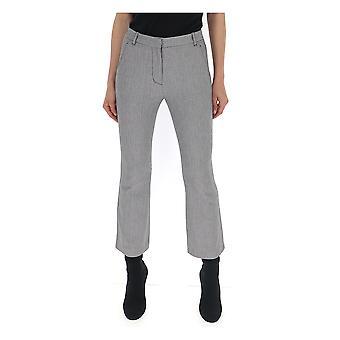 3.1 Phillip Lim 5187bydbl037 Pantalons en coton gris pour femmes et femmes;s