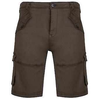 KAM Kam Stretch Cargo Shorts