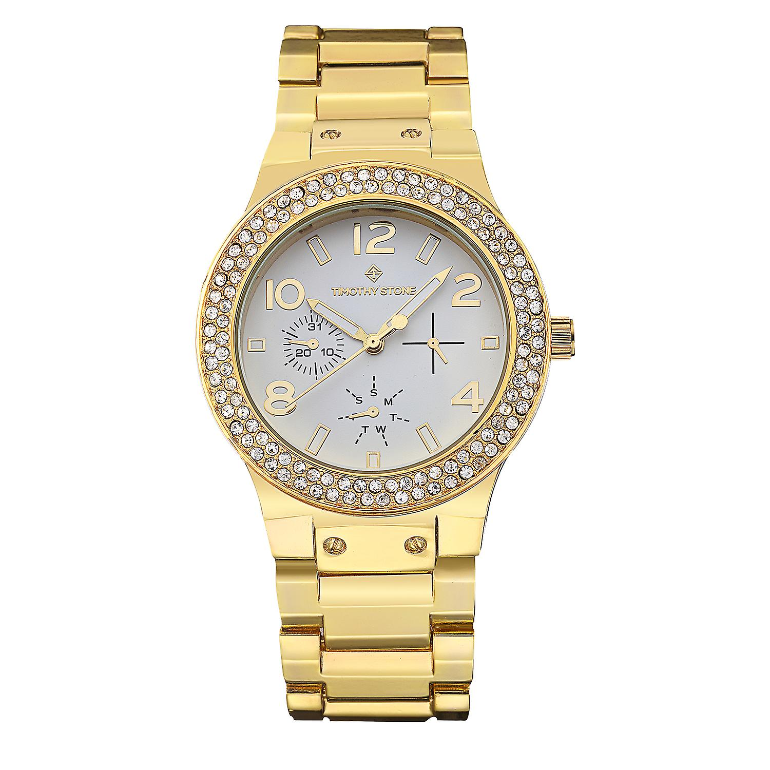 Timothy Stone Women's FA�ON-STAINLESS Gold-Tone Watch
