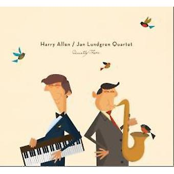 Allen, Harry / Lundgren, Jan - Quietly There [CD] USA import