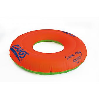 Zoggs Swim Ring Orange/Green - 2-3 Yr