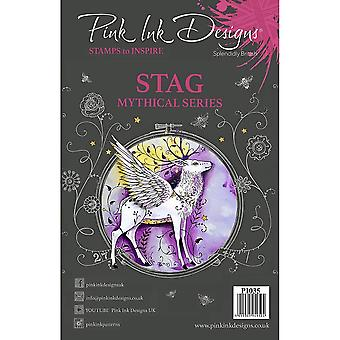 Pink Ink Designs Stag Mythical Series 7 Stamp Set