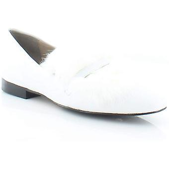 Donald J Pliner Womens Lilian Leather Almond Toe Loafers