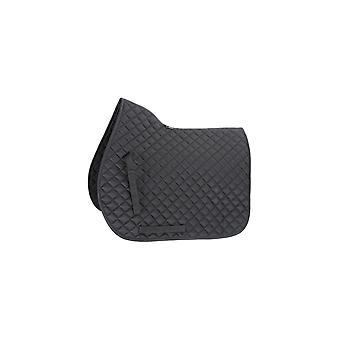Shires Quilted General Purpose Saddlecloth - Black
