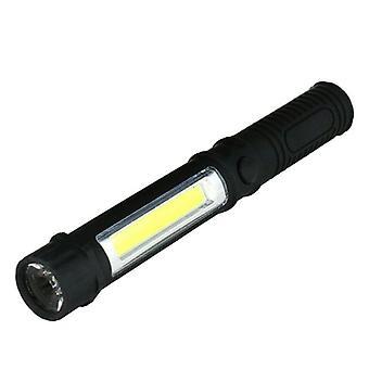 LED-ficklampa med 2 ljuskällor
