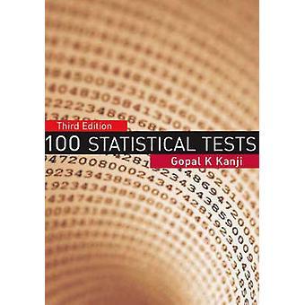 Estadística 100 pruebas (3ª edición revisada) por Gopal K. Kanji - 97814