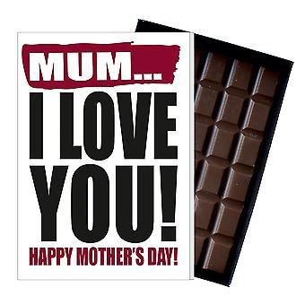 Funny mor ' s dag gave boxed chokolade nuværende uhøflige lykønskningskort til mor mor mumy MIYF107