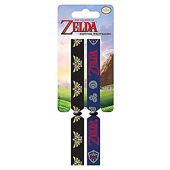 LEGEND of ZELDA Festival Wristbands