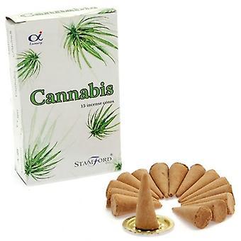 Cannabis rökelse koner Stamford 15 Box