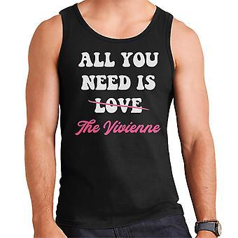 Todo lo que necesitaes es la Vivienne UK Drag Race Men's Vest
