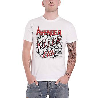 Avenger T Shirt Killer Elite Album Cover Band Logo new Official Mens White