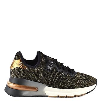 Ash Footwear Krush Bis Black And Gold Trainer