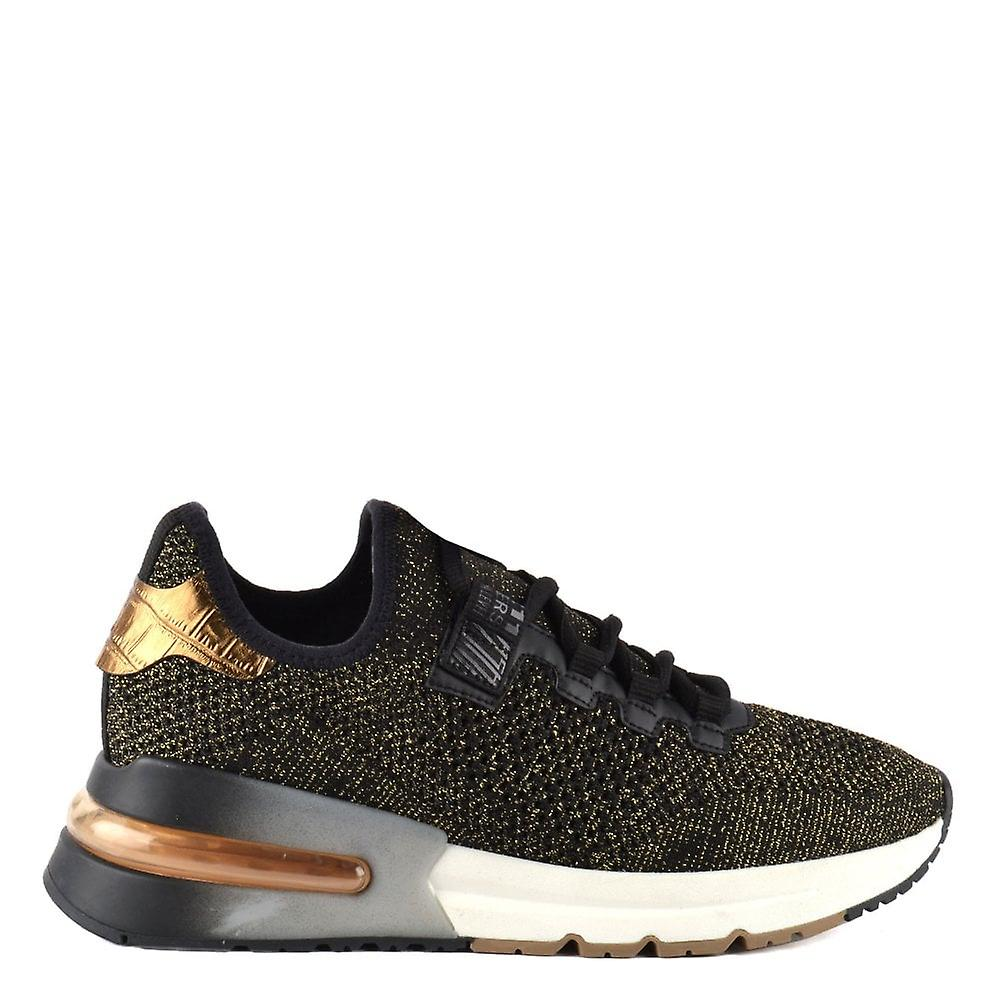 Ash Footwear Krush Bis Black And Gold Trainer WdzNC