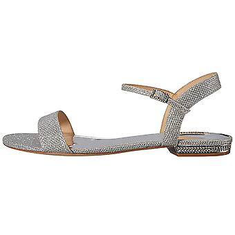 Badgley Mischka Women's Tobey Flat Sandal