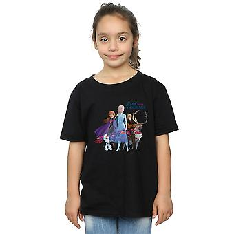 Disney Girls Frozen 2 Lead With Courage T-Shirt
