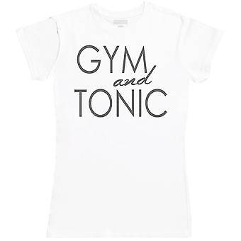 Gym And Tonic - Womens T-Shirt