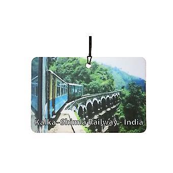 Kalka - kolejowa Shimla - Indie samochodowa zawieszka zapachowa