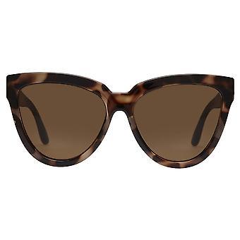 Le Specs Liar Lair Tortoise Cat Eye Okulary przeciwsłoneczne