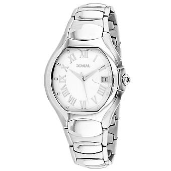 Jovial Men's Classic White Dial Watch - 08031-MSM-01