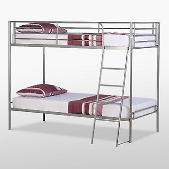 Brandon Bunk Bed-metal-sølv