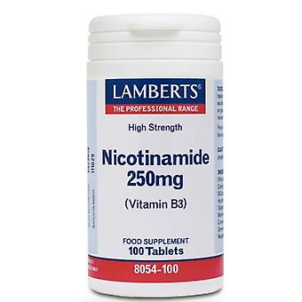 Lamberts Nicotinamid 250mg Tabletten 100 (8054-100)