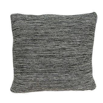 """20"""" x 7"""" x 20"""" Cubierta única de almohada gris de transición con inserción hacia abajo"""