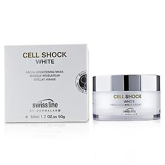 Swissline Cell Shock White Facial Brightening Mask - 50ml/1.7oz