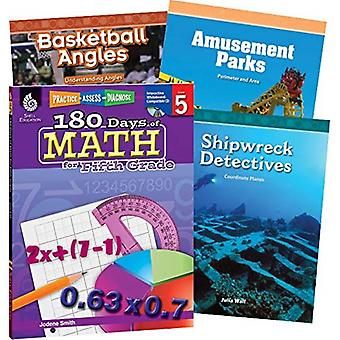 Learn-At-Home: Math Bundle Grade 5