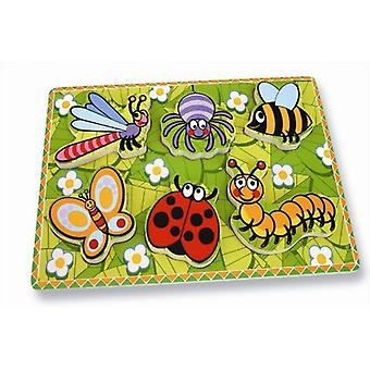 Andreu Toy Insects First Puzzle (30 x 22.5 x 2 cm)