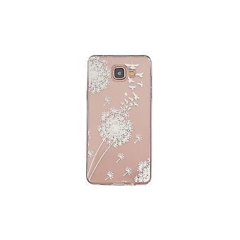 Coque Pour Samsung Galaxy A3 (2016) Transparente Souple Motif Fleurs Blanches
