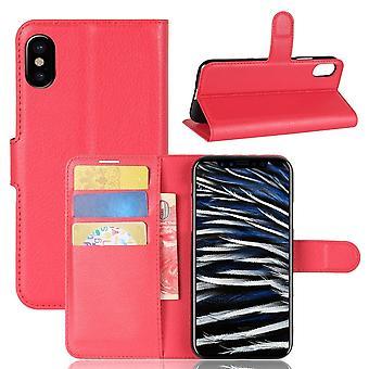 Fall für iPhone X Red Card Halter