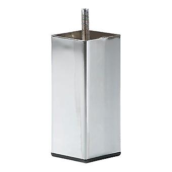 Chrom Quadrate Möbel Bein 10 cm (M8)