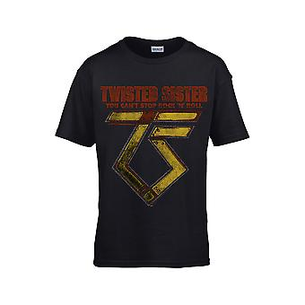 Twisted Sister You Can&T Stop Rock ́N'Roll Kids T-Shirt
