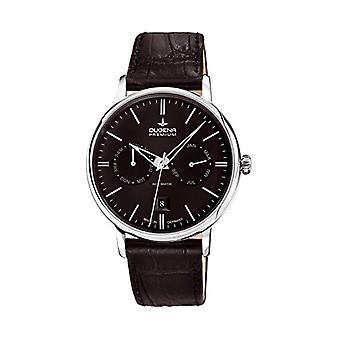 Dugena Watch men's Manual Analog leather strap 7000332