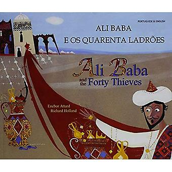 Ali Baba and the Forty Thieves in Portuguese and English