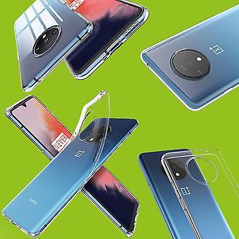 Für OnePlus 7T Pro Silikoncase TPU Schutz Transparent Tasche Hülle Cover Etui Zubehör Neu