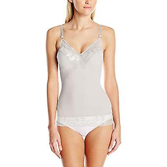 Ahh By Rhonda Shear Women's Plus Size Pin-Up Camisole,, Silver Grey, Size 1.0